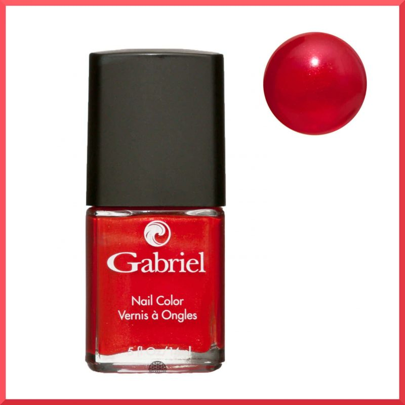 "Vernis à ongles ""Holiday Red"" 14ml - Gabriel Color"
