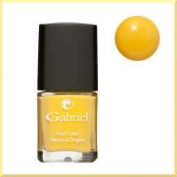 Vernis à ongles vegan & 5free couleur Golden Yellow 14ml
