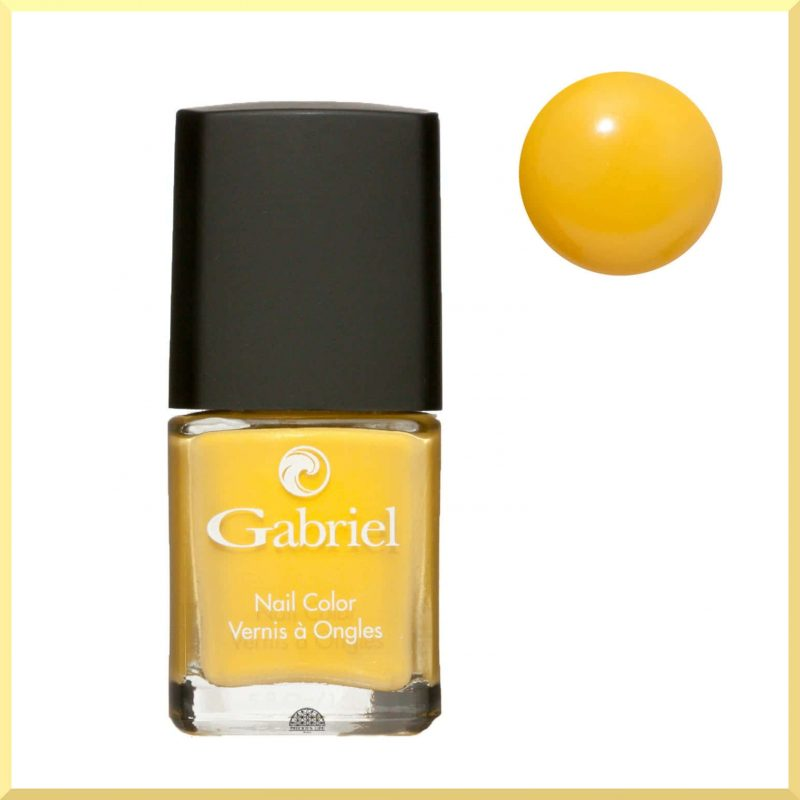"Vernis à ongles ""Golden Yellow"" 14ml - Gabriel Color"