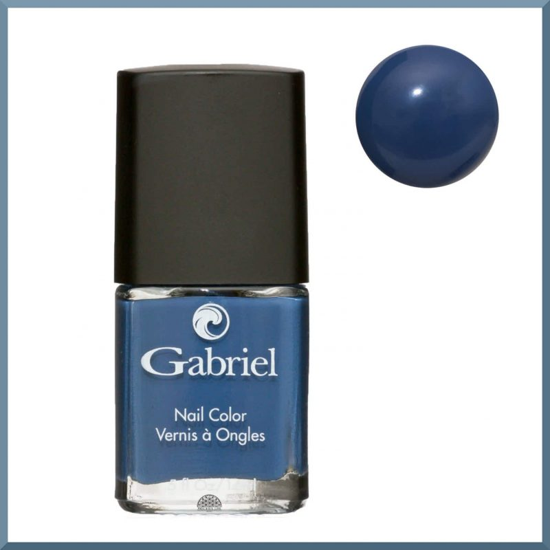 "Vernis à ongles ""Petrol Blue"" 14ml - Gabriel Color"