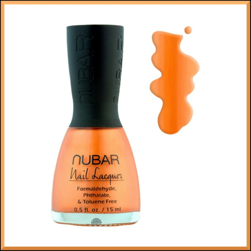 "Vernis à ongles ""Orange Crush"" 15ml - Nubar"