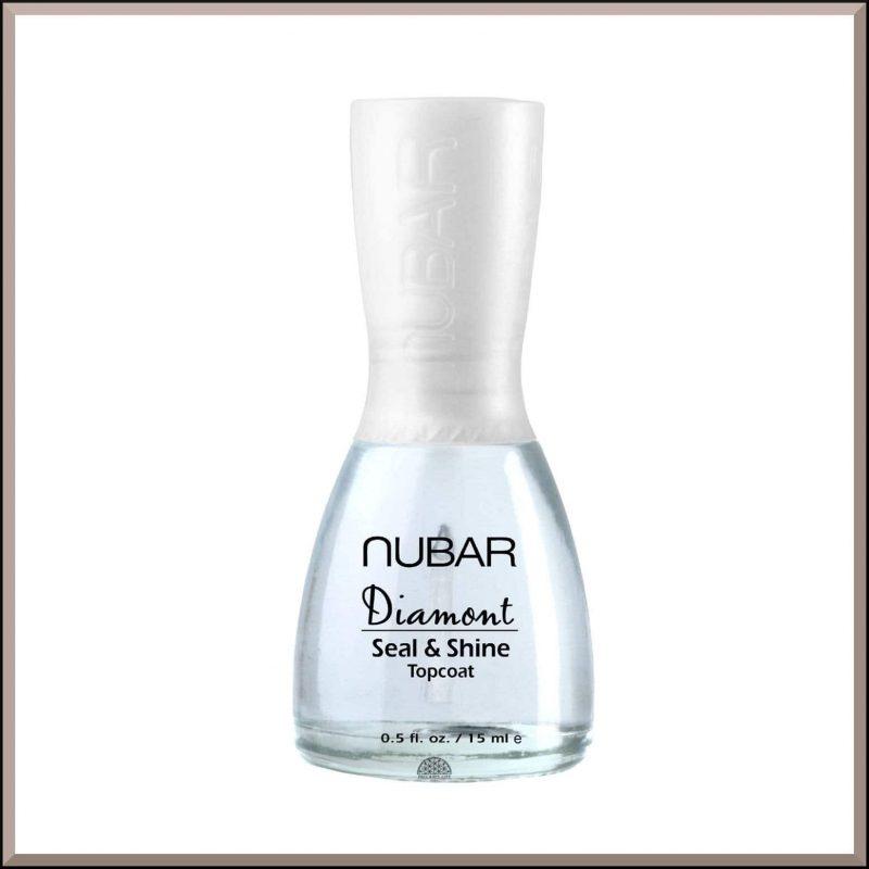"Top coat haute brillance ""Diamond"" 15ml - Nubar"