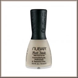 Top coat mat 15ml - Nubar