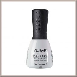 "Top coat longue tenue ""Poli-Cure"" 15ml - Nubar"