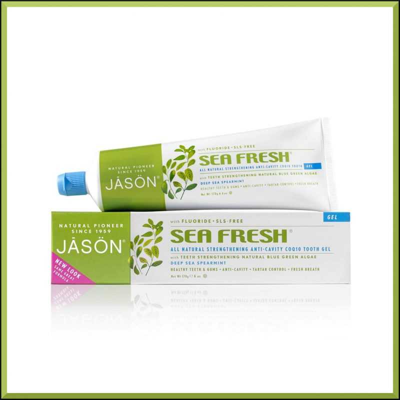 "Dentifrice ""Sea Fresh"" 170gr - Jason Naturals"