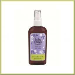 "Huile de massage ""Camomille & Vanille"" 118ml - Hugo Naturals"