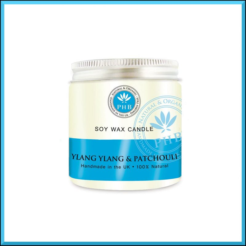 """Bougie """"Ylang ylang & Patchouli"""" 118gr - PHB Ethical Beauty"""