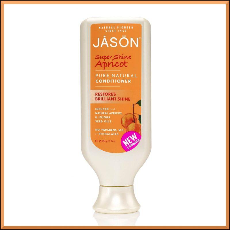"Après shampoing ""Abricot"" 473ml - Jason Naturals"