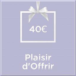 """Carte Cadeau """"Plaisir d'Offrir"""""""