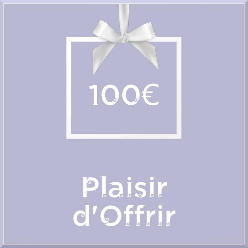 """Carte cadeau vegan """"Plaisir d'Offrir"""" 100€ - Precious Life"""