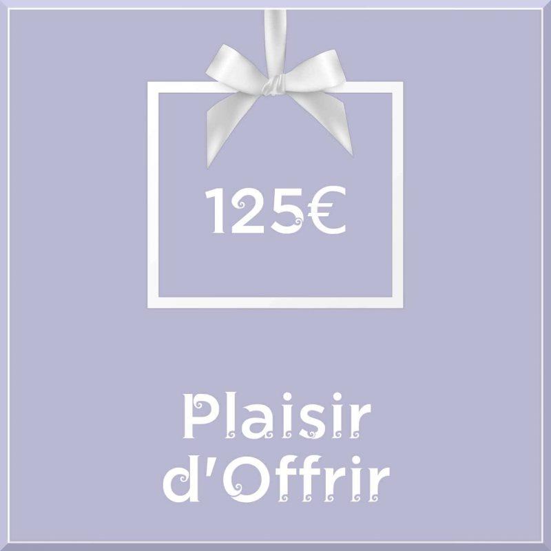 """Carte cadeau vegan """"Plaisir d'Offrir"""" 125€ - Precious Life"""