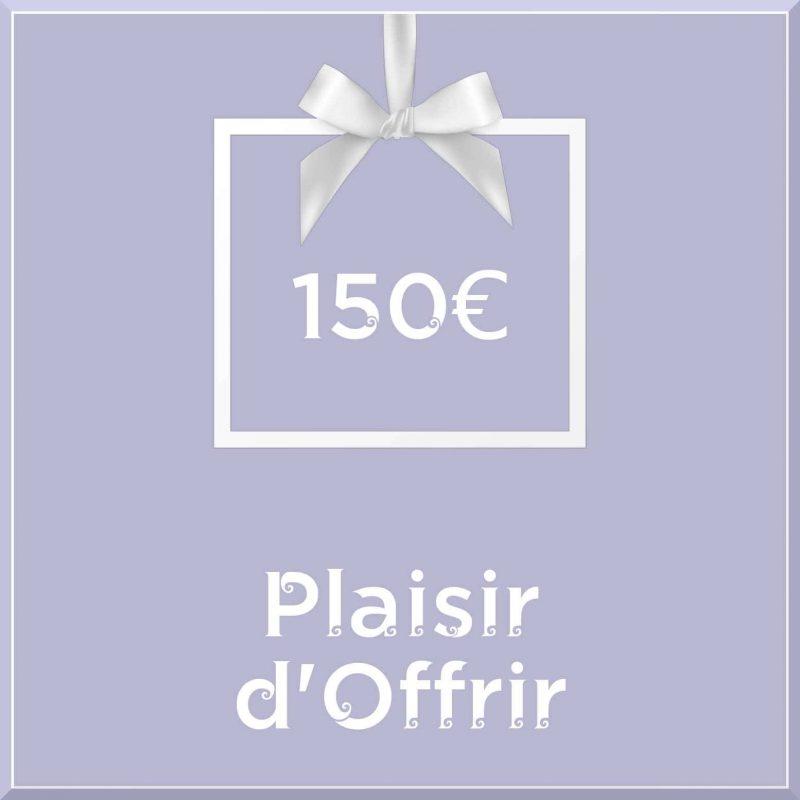 """Carte cadeau vegan """"Plaisir d'Offrir"""" 150€ - Precious Life"""