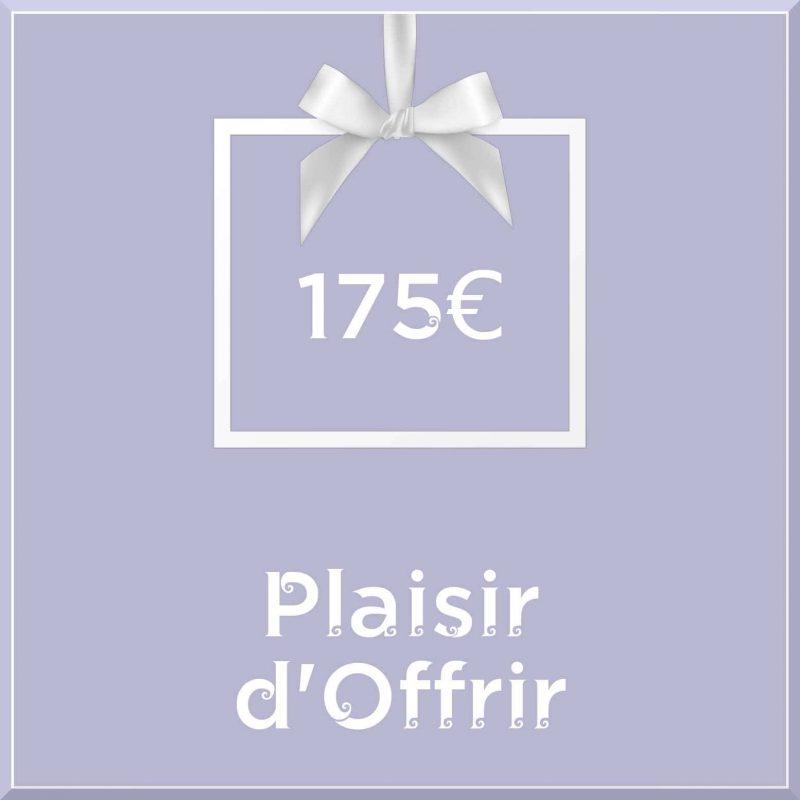 """Carte cadeau vegan """"Plaisir d'Offrir"""" 175€ - Precious Life"""