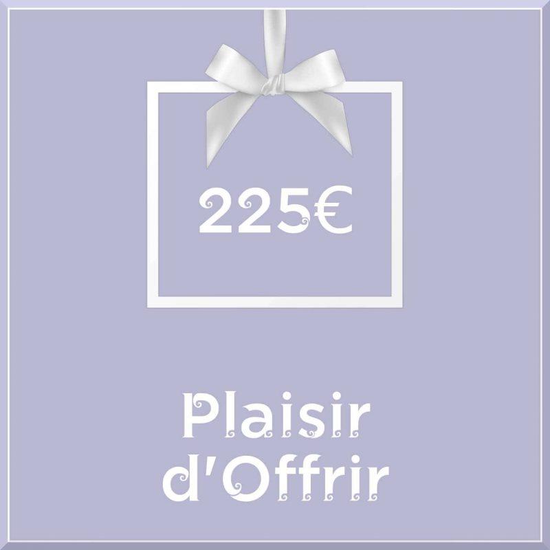 """Carte cadeau vegan """"Plaisir d'Offrir"""" 225€ - Precious Life"""