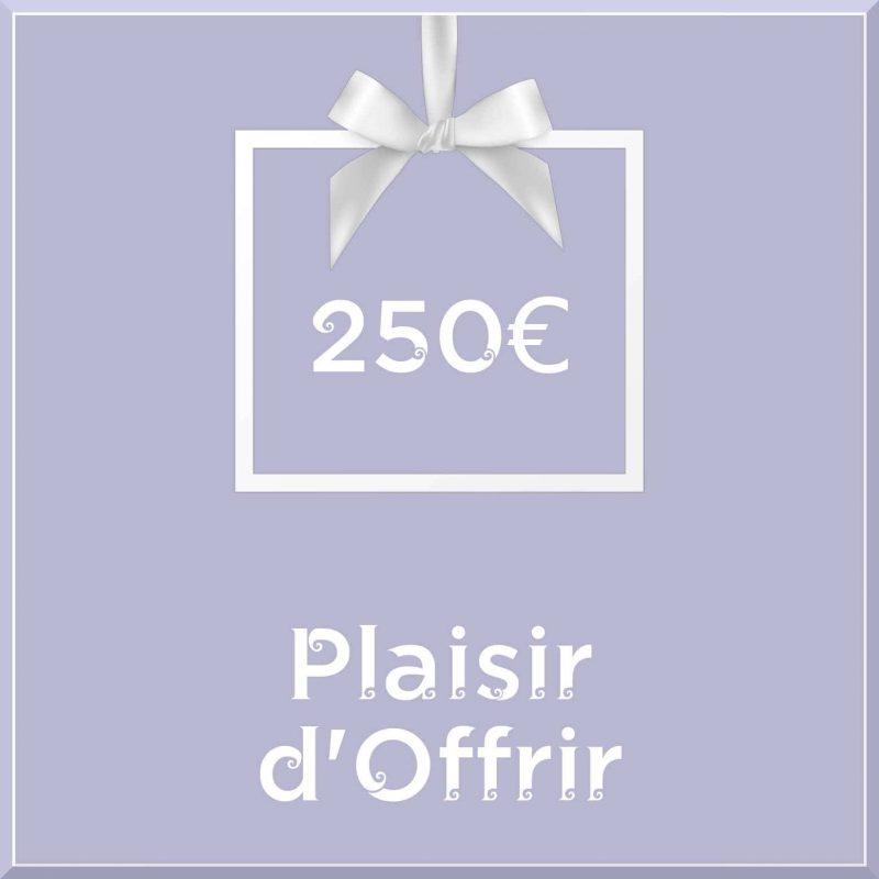 """Carte cadeau vegan """"Plaisir d'Offrir"""" 250€ - Precious Life"""