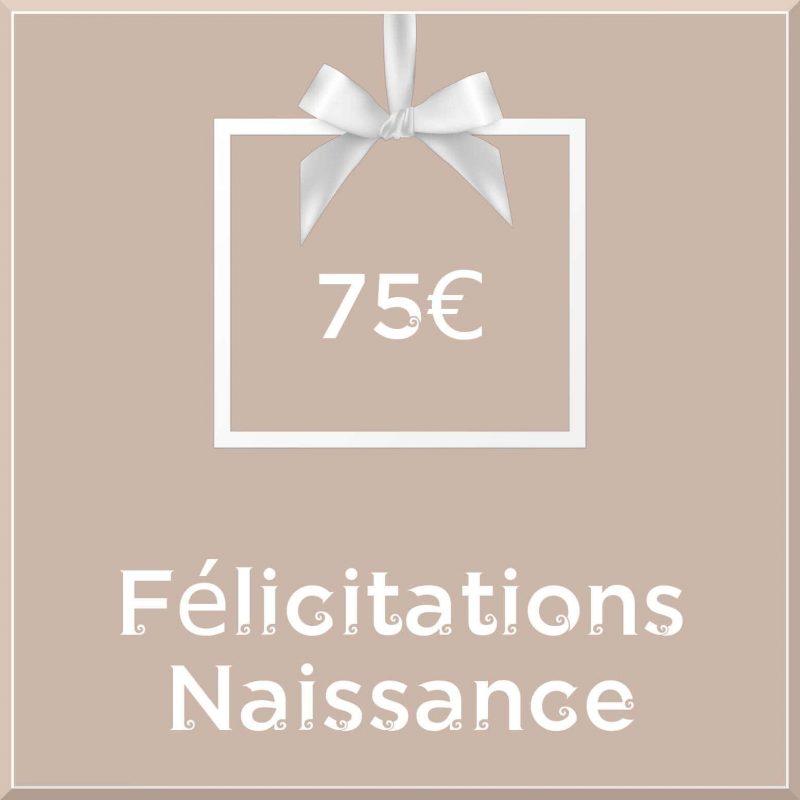 """Carte cadeau vegan """"Naissance"""" 75€ - Precious Life"""