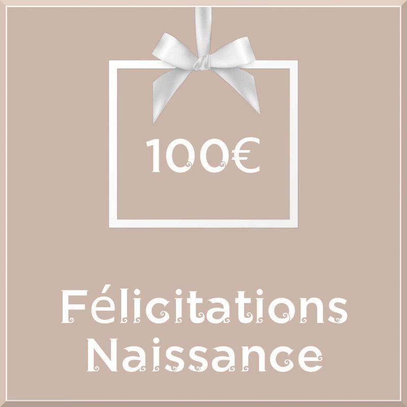 """Carte cadeau vegan """"Naissance"""" 100€ - Precious Life"""