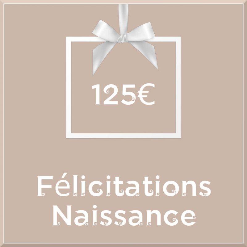 """Carte cadeau vegan """"Naissance"""" 125€ - Precious Life"""