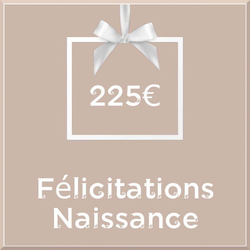 """Carte cadeau vegan """"Naissance"""" 225€ - Precious Life"""