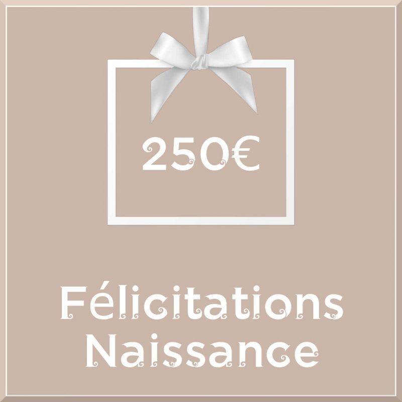 """Carte cadeau vegan """"Naissance"""" 250€ - Precious Life"""