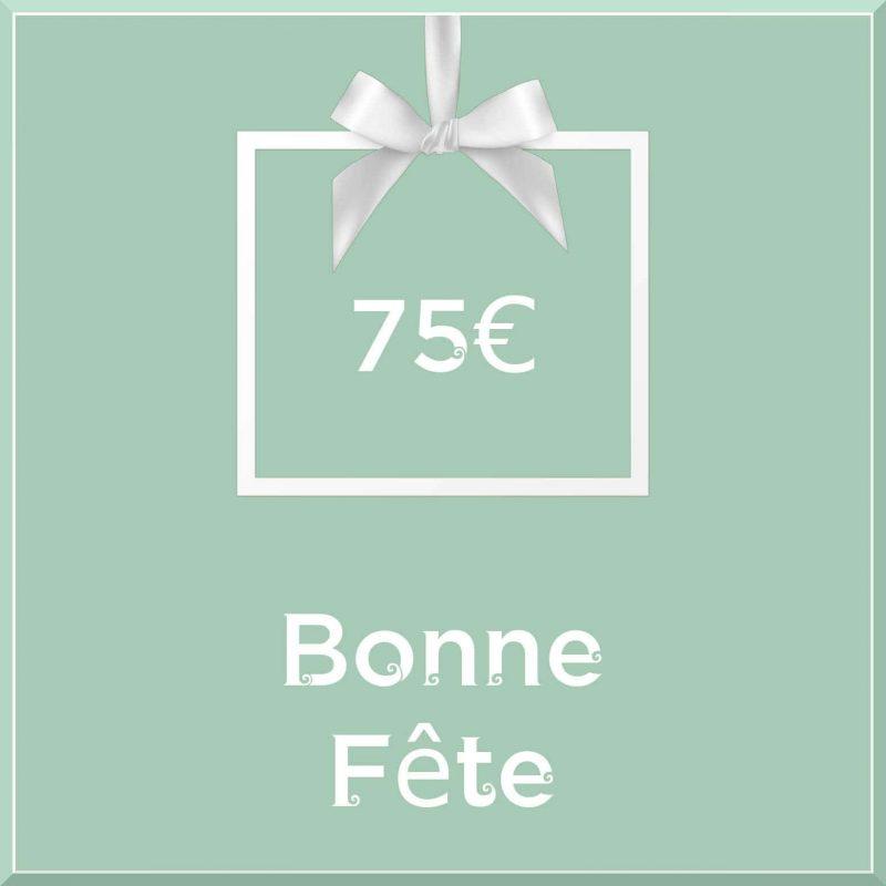"""Carte cadeau vegan """"Bonne Fête"""" 75€ - Precious Life"""