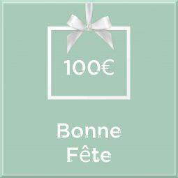 """Carte cadeau vegan """"Bonne Fête"""" 100€ - Precious Life"""