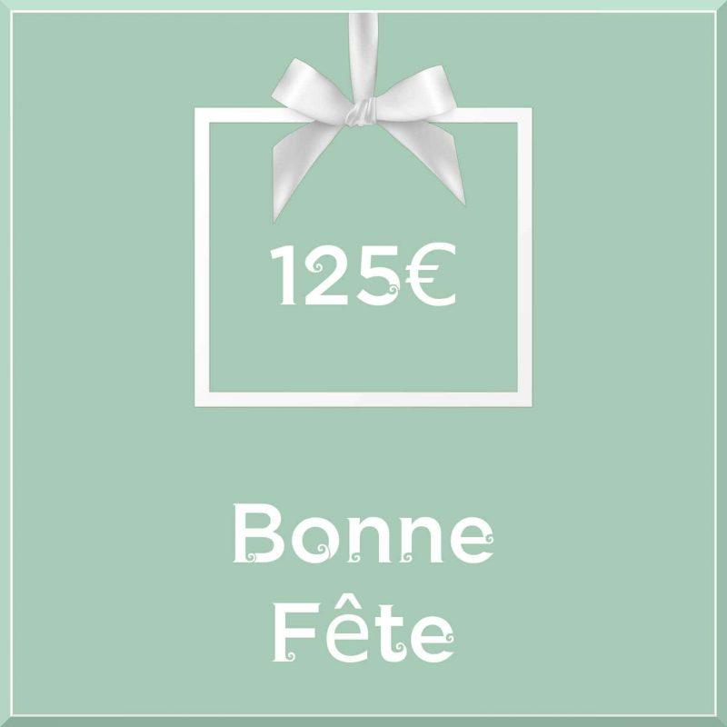 """Carte cadeau vegan """"Bonne Fête"""" 125€ - Precious Life"""