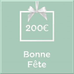 """Carte cadeau vegan """"Bonne Fête"""" 200€ - Precious Life"""