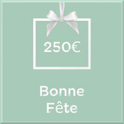"""Carte cadeau vegan """"Bonne Fête"""" 250€ - Precious Life"""