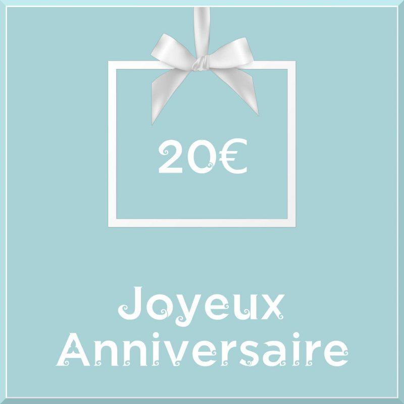 "Carte cadeau vegan ""Joyeux Anniversaire"" 20€ - Precious Life"