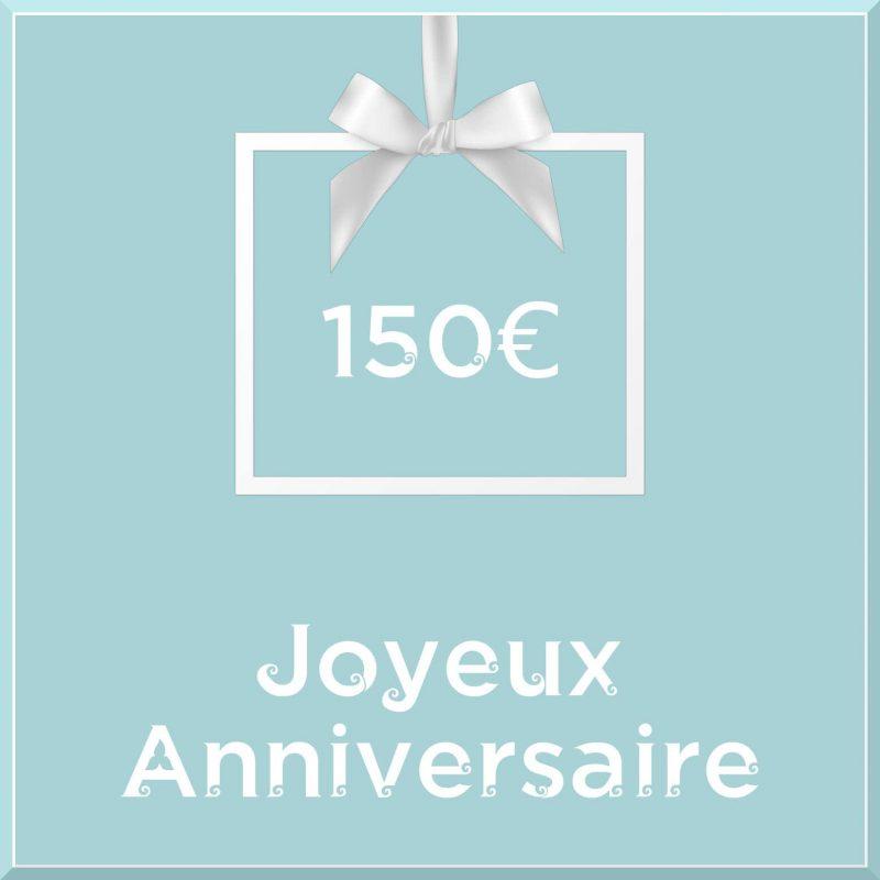 "Carte cadeau vegan ""Joyeux Anniversaire"" 150€ - Precious Life"