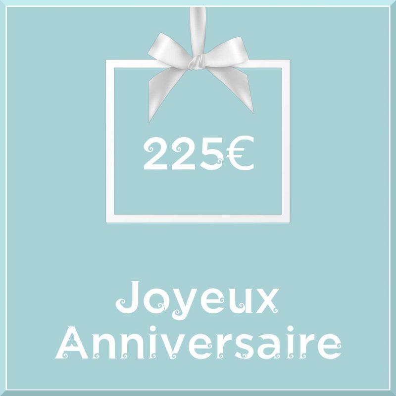 "Carte cadeau vegan ""Joyeux Anniversaire"" 225€ - Precious Life"