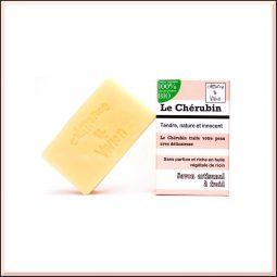 """Le Chérubin"" Savon SAF vegan & bio sans parfum 100gr"