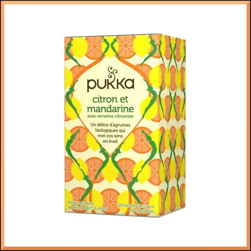 "Infusion ""Citron & Mandarine"" - Pukka"