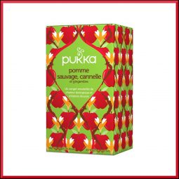 "Infusion ""Pomme sauvage, Cannelle & Gingembre"" - Pukka"