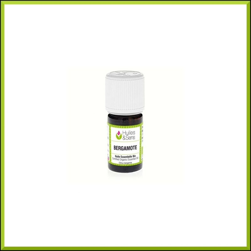 Huile essentielle de Bergamote 5ml - Huiles & Sens