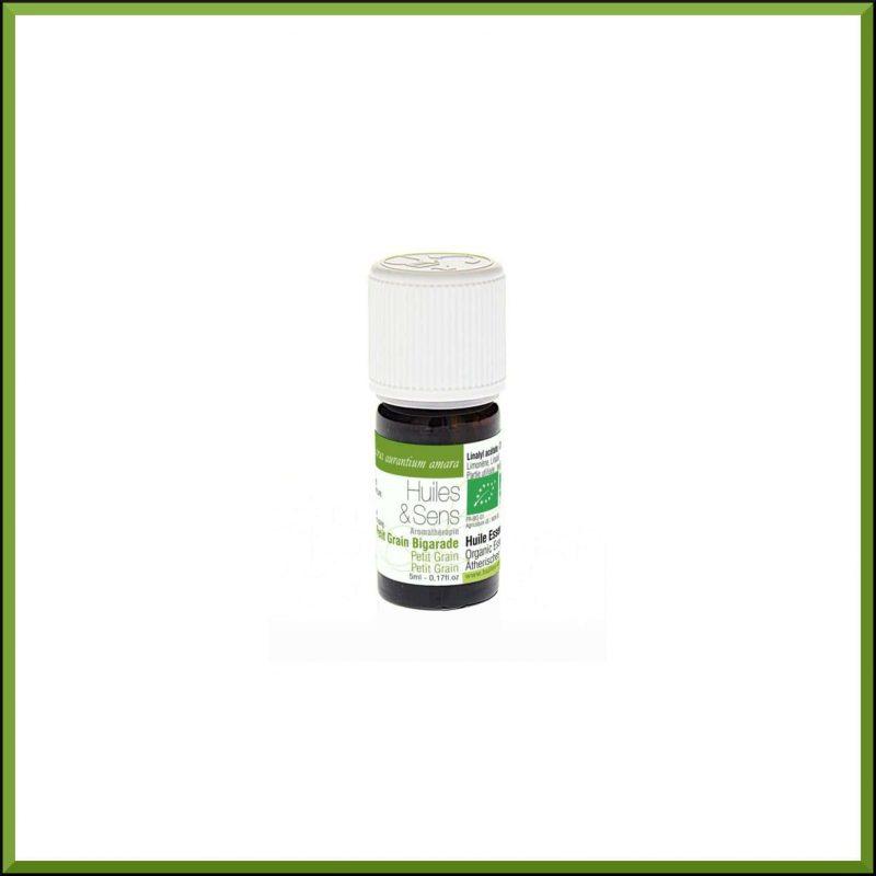 Huile essentielle de petit Grain Bigarade 5ml - Huiles & Sens