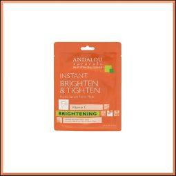 "Masque wrap Unifiant & Tonifiant ""Vitamine C"" 18ml - Andalou Naturals"