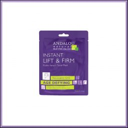 "Masque wrap Liftant & Raffermissant ""Resvératrol & Q10"" 18ml - Andalou Naturals"