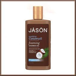 "Huile de douche ""Coco"" 296ml - Jason Naturals"
