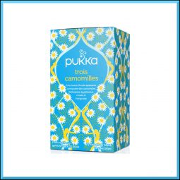 "Infusion ""Trois Camomilles"" - Pukka"