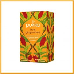 "Infusion ""Trois Gingembres"" - Pukka"