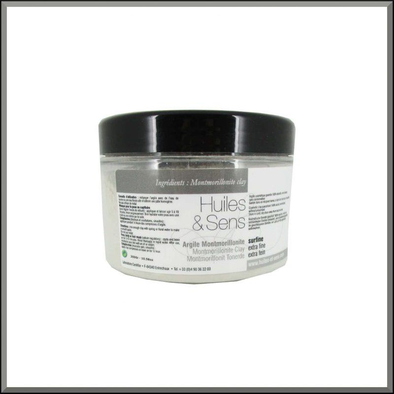 Argile Montmorillonite 300gr - Huiles & Sens