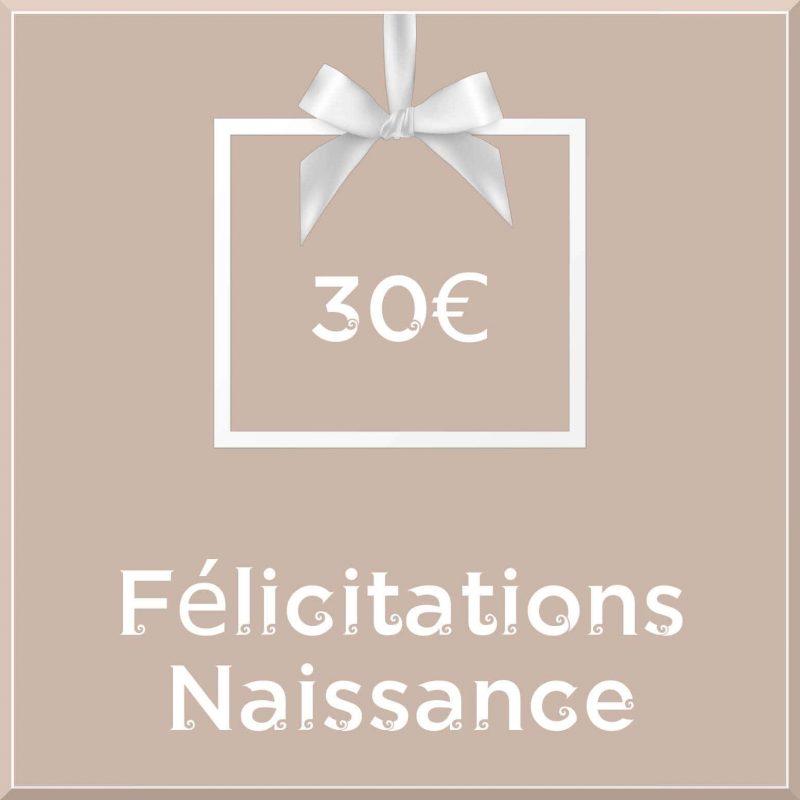 """Carte cadeau vegan """"Naissance"""" 30€ - Precious Life"""