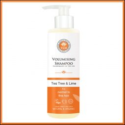 Shampoing volume vegan & bio Arbre à thé Citron 250ml