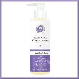 """Après shampoing équilibrant """" Lavande & Menthe"""" 250ml - PHB Ethical Beauty"""