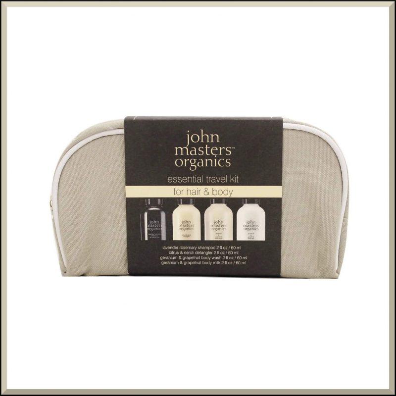 Trousse de voyage corps & cheveux - John Masters Organics