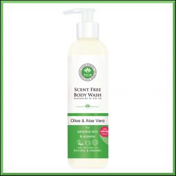 "Gel douche ""Olive & Aloe vera"" 250ml - PHB Ethical Beauty"