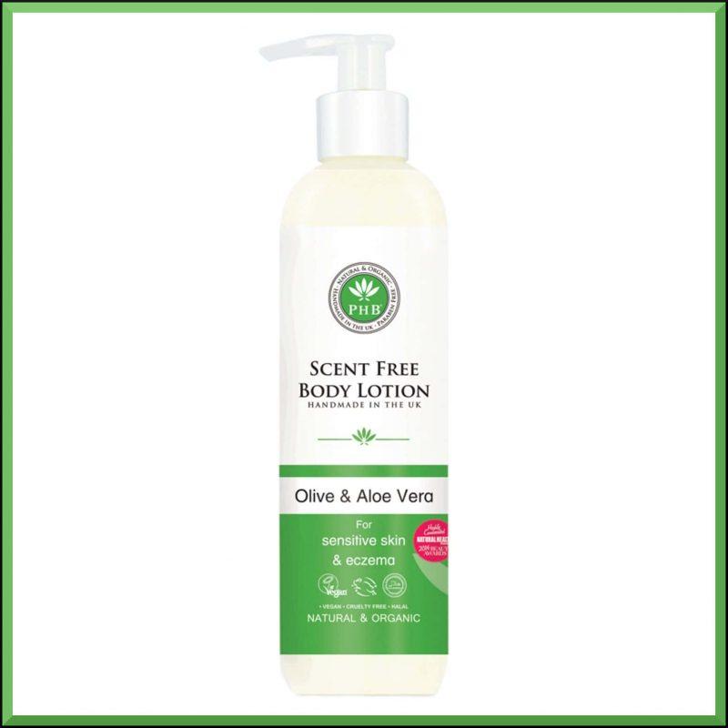 "Lotion corps ""Olive & Aloe vera"" 250ml - PHB Ethical Beauty"