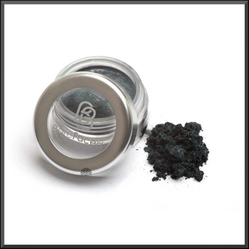 """Ombre à paupières minérale """"Black Pearl"""" 1.5gr - Barefaced Beauty"""